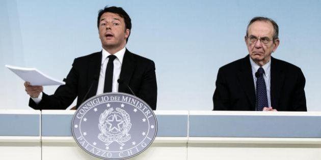 Pensioni, tra Matteo Renzi e Pier Carlo Padoan primo braccio di ferro. Divergenze sui tempi e sulle cifre...