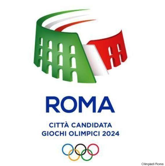 Logo Olimpiadi di Roma 2024: il Colosseo Tricolore. Montezemolo: