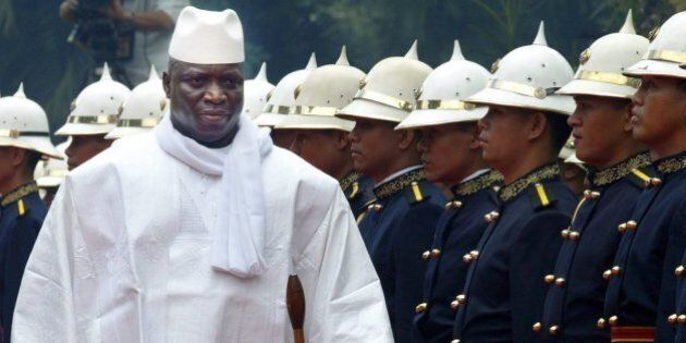 Yahya Jammeh, presidente del Gambia minaccia: