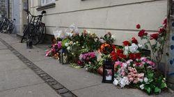 Fiori deposti anche dove è morto il terrorista