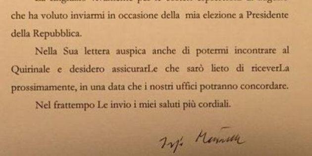 Sergio Mattarella risponde a Beppe Grillo: