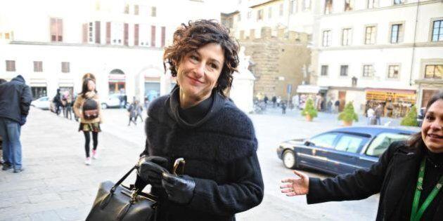 Agnese Renzi alla sfilata di Ermanno Scervino: