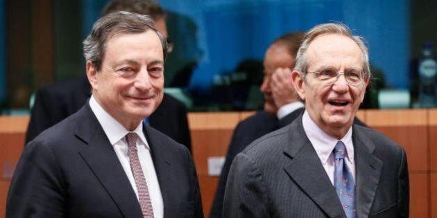 Pier Carlo Padoan ammette il flop delle previsioni di crescita e si affida a Mario