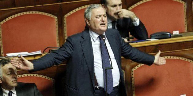 Amministrative, Il verdiniano Vincenzo D'Anna: