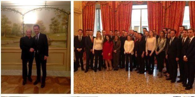 Fabrizio Cicchitto sfotte Silvio Berlusconi: