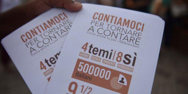 Pippo Civati, fallisce la raccolta firme dei referendum di