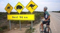 Il giro del mondo in bicicletta in 123 giorni. Il nuovo record di Andrew