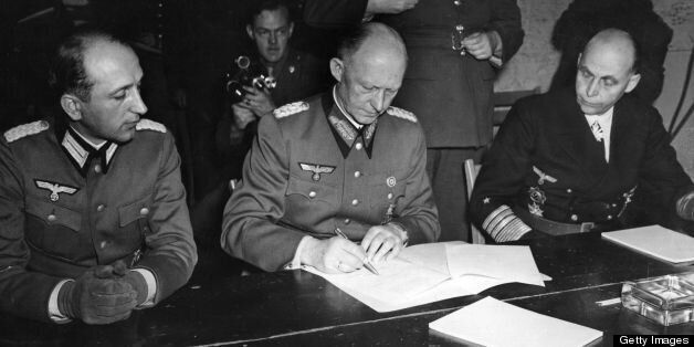 This Date In History: Germany Surrenders To The Allies On