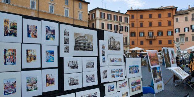 Achille Bonito Oliva valuterà gli artisti di Piazza Navona? Solo i più bravi nella