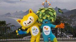 Un gatto e un albero mascotte di Rio 2016 (VIDEO,