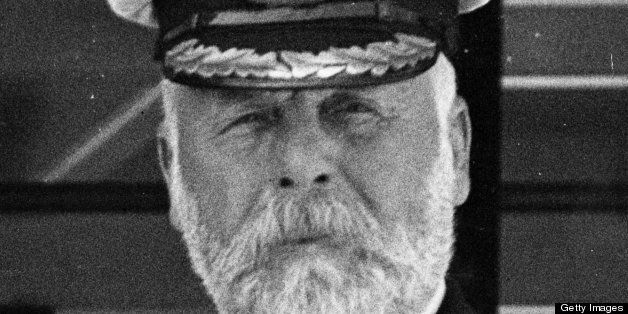 Edward John Smith (1850 - 1912), captain of the White Star liner 'Olympic', 9th June 1911. He later became captain of the ill