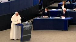 Il Papa a Strasburgo: