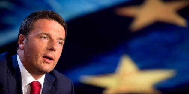 Matteo Renzi a Strasburgo: