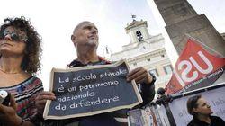 I sindacati della scuola invitano i parlamentari in piazza