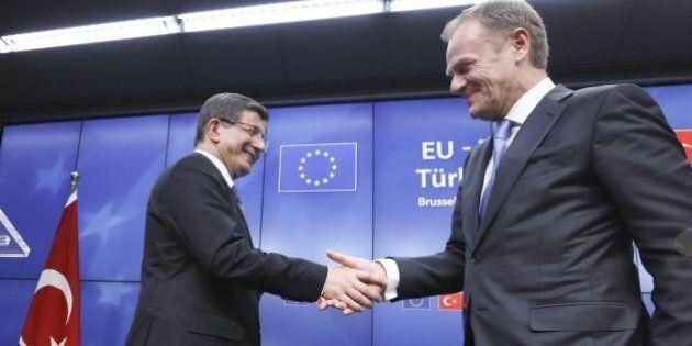 Ue Turchia, accordo di massima sui migranti. C'è meccanismo di ricollocamento per ogni siriano riaccolto...