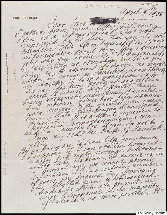 Sigmund Freud e l'omosessualità. La lettera ritrovata che svela il suo pensiero: