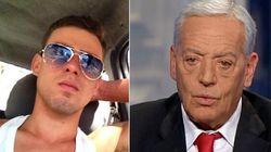 Il padre di Foffo a Porta a Porta, polemica sui social: