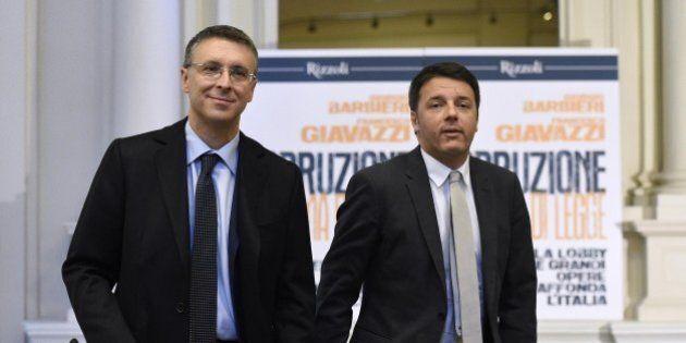 Matteo Renzi vuole Cantone a gestire i contenziosi dei clienti con le