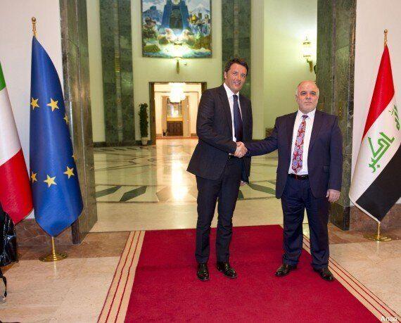 Matteo Renzi in Iraq: