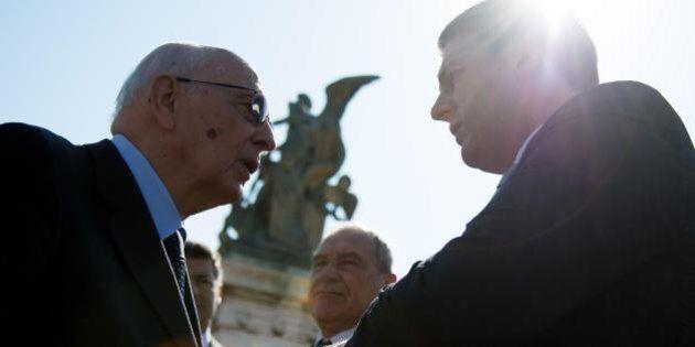I timori di Renzi nel colloquio con Napolitano: il quadro non tiene, obiettivo minimo Italicum al Senato...