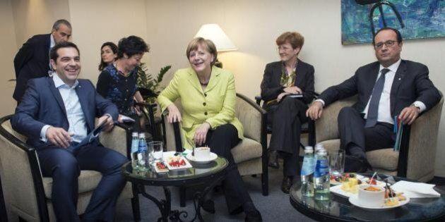 Merkel e Hollande, ora è nelle loro mani il futuro della Grecia (e