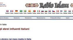 Blacklist di ebrei su Radio Islam, indaga la procura di