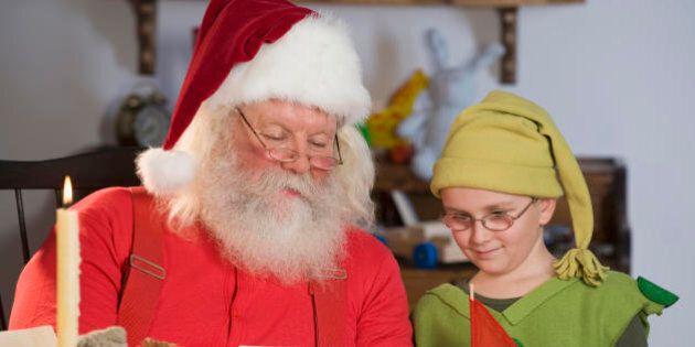 Esiste Babbo Natale Si O No.Il Prete Ai Bambini Babbo Natale Non Esiste I Genitori Si