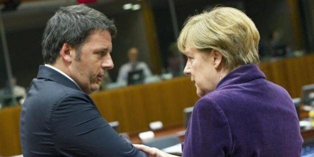 Consiglio Ue, Renzi a muso duro contro Merkel su banche e Nord Stream.