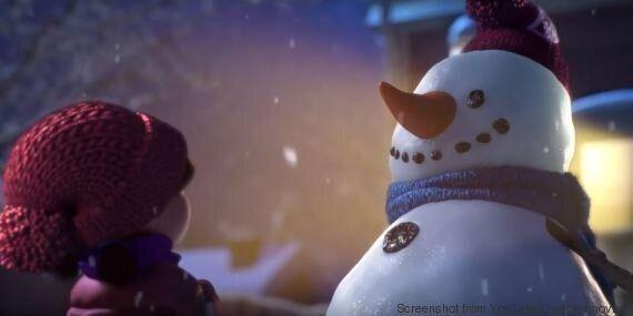 VIDEO. Un pupazzo di neve e una bambina vi ricordano che i veri amici vi aspettano