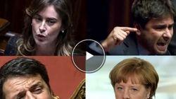 Il Boschi day, le scintille Renzi-Merkel e le altre notizie selezionate per Cinque alle