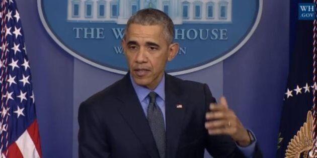 Barack Obama, discorso del countdown: