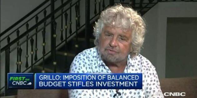 Beppe Grillo, intervista CNBC: