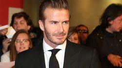 David Beckham in sella a una moto per Belstaff (FOTO,