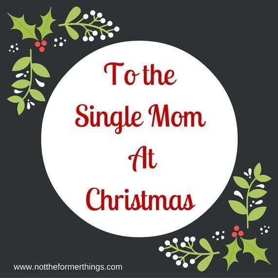 A una madre single durante il
