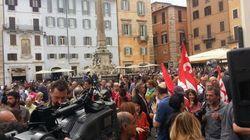 Al via la manifestazione contro la Buona Scuola, Camera approva articoli 1 e