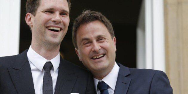 Matrimonio gay premier Lussemburgo Xavier Bettel, primo capo di Governo in Europa all'altare con il