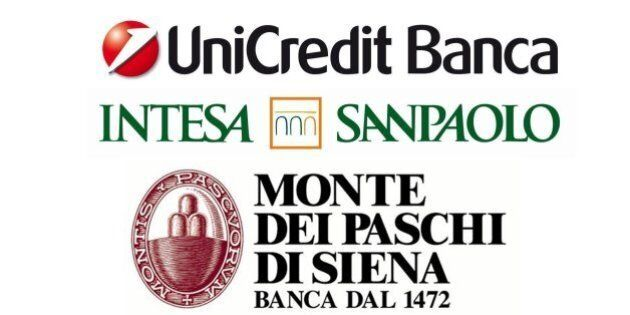 Fusione Intesa-Unicredit-Mps, la Borsa non ci crede e gli interessati
