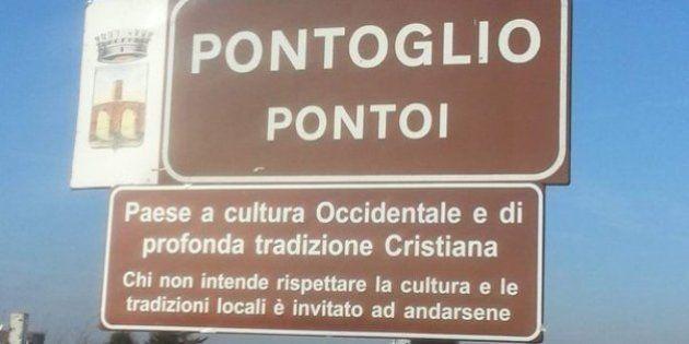 Vada a casa il sindaco di Pontoglio per i cartelli