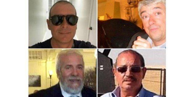 Salvatore Failla, Fausto Piano, Filippo Calcagno e Gino Pollicardo: li aspettavano col riscatto, ecco...