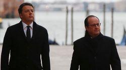 Renzi al vertice Italia-Francia: