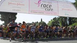 Roma, 70mila partecipanti alla maratona per la lotta al tumore al seno