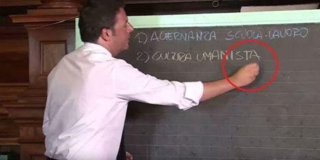 Agnese Renzi rimprovera Matteo Renzi per la gaffe sulla