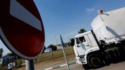 Convoglio russo entra in Ucraina senza