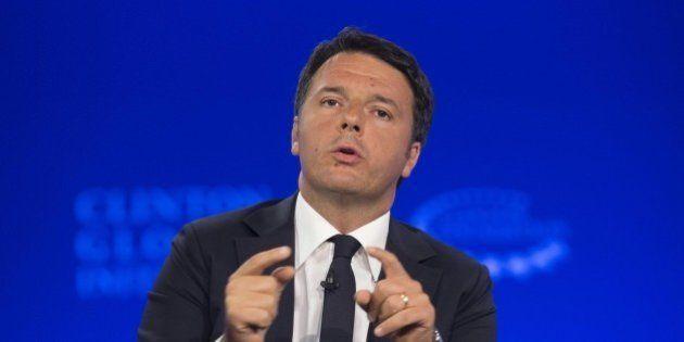 Matteo Renzi boccia Romano Prodi sulla Siria e difende l'alleato sulle riforme Denis Verdini:
