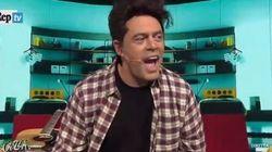 Crozza mette i panni di Frank Matano fra battutacce e scherzi