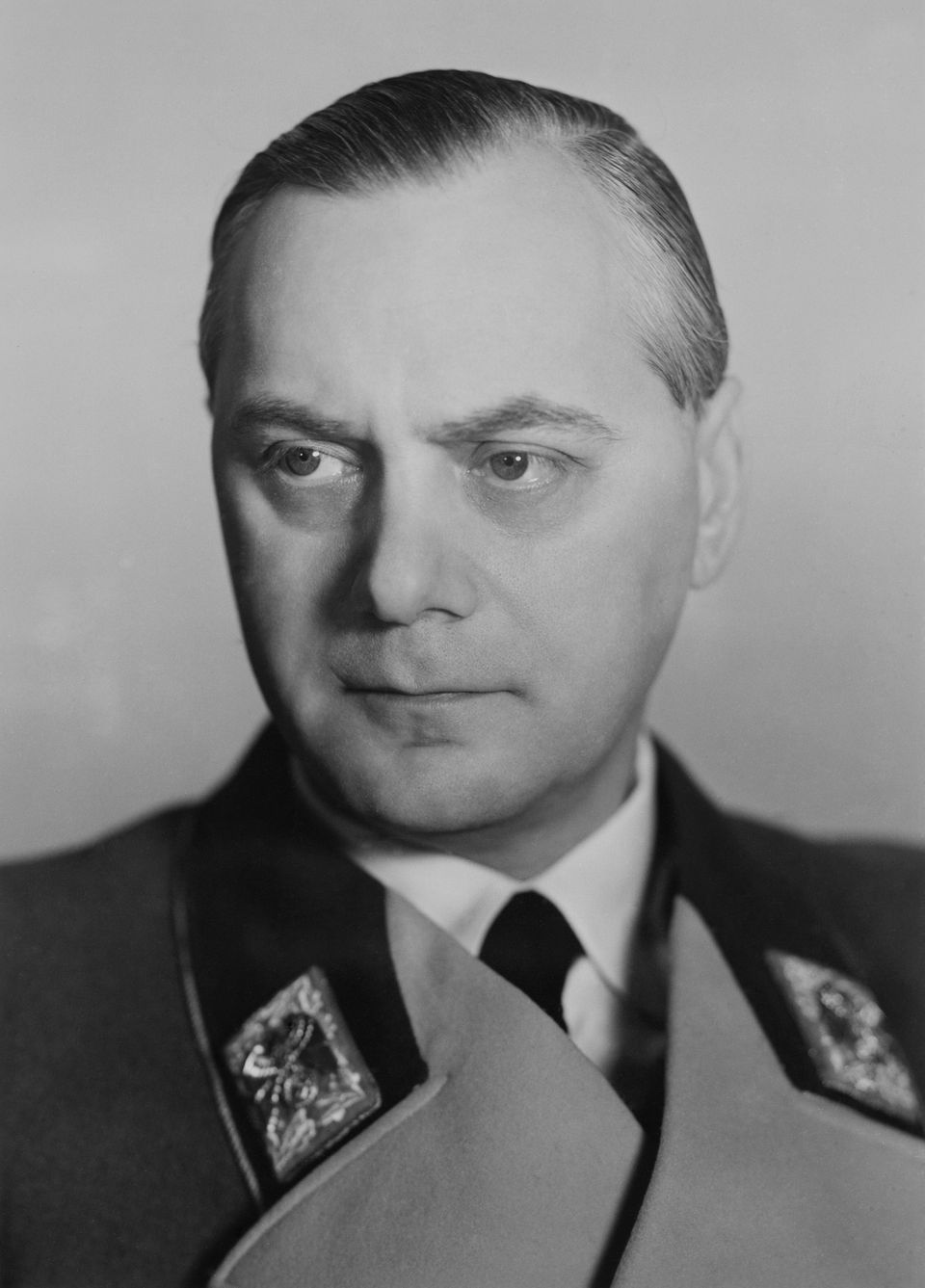 Portrait Of Reichsminister Alfred Rosenberg In Germany On January 8th 1943  (Keystone-France/Gamma-Keystone via Getty Images)