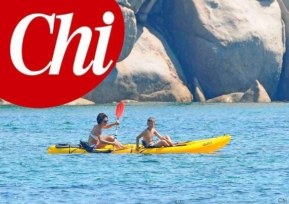 Agnese Renzi in bikini a Palau: fisico atletico e canoa con il figlio Emanuele. Le vacanze della moglie...