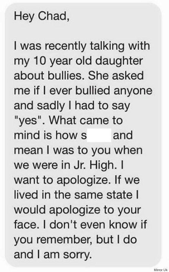 Insultato perchè gay, dopo vent'anni una lettera di scuse dal bullo della scuola