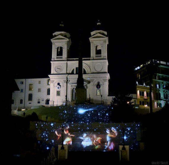 A Piazza di Spagna, il teatro di luce di Livia