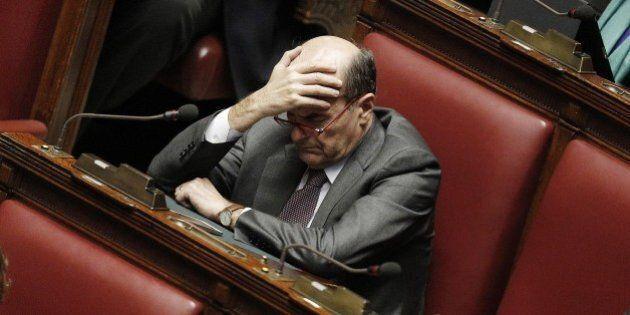 Pier Luigi Bersani contro Matteo Renzi,